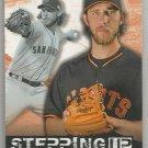 2015 Topps Baseball Stepping Up Madison Bumgarner (Giants) #SU-11