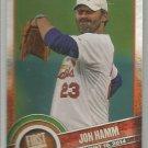 2015 Topps Baseball First Pitch Jon Hamm (Cardinals) #FP-18