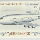 """2015 Topps Allen & Ginter Baseball What Once Would Be """"Giant Airliners"""" #WOULD-6"""
