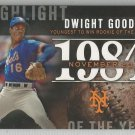 2015 Topps Update & Highlights Season Highlight 1984 Dwight Gooden (Mets) #H-79