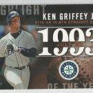 2015 Topps Update & Highlights Season Highlight 1993 Ken Griffey Jr (Mariners) #H-82