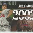2015 Topps Update & Highlights Season Highlight 2002 John Smoltz (Braves) #H-85