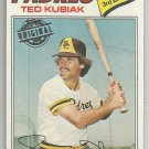 2015 Topps Update & Highlights Original Buybacks 1977 Topps Ted Kubiak (Padres) #158