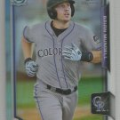 2015 Bowman Draft Picks & Prospects Chrome Refractor Brian Mundell (Rockies) #153