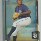 2015 Bowman Draft Picks & Prospects Chrome Refractor Austin Smith (Padres) #180