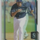 2015 Bowman Draft Picks & Prospects Chrome Refractor Jordy Lara (Mariners) #63