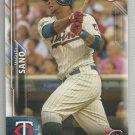 2016 Bowman Baseball Rookie Miguel Sano (Twins) #140
