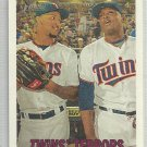 "2016 Heritage Baseball ""Twins Terrors Byron Buxton / Miguel Sano (Twins) #334"