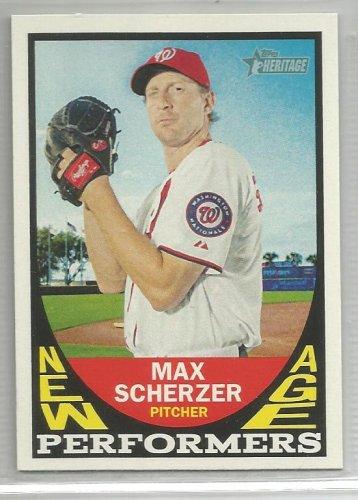 2016 Heritage Baseball New Age Performers Max Scherzer (Nationals) #NAP-MSC