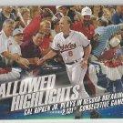2016 Topps Baseball Hallowed Highlights Cal Ripken Jr (Orioles) #HH-8