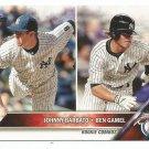 2016 Topps Update Baseball Rookie Combos Johnny Barbato & Ben Gamel (Yankees) #US5