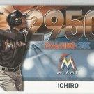 2016 Topps Update Baseball Chasing 3k #2950 Ichiro Suzuki (Marlins) #3000-40