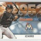 2016 Topps Update Baseball Chasing 3k #2952 Ichiro Suzuki (Marlins) #3000-42