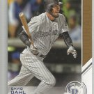2017 Topps Baseball Salute David Dahl (Rockies) #S-83