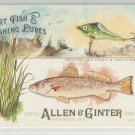 2017 Allen & Ginter Sport Fish & Lures Spotted Sea Trout & Twitchbait #SFL-11