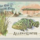 2017 Allen & Ginter Sport Fish & Lures Grouper & Diving Plugs #SFL-12