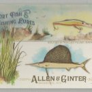 2017 Allen & Ginter Sport Fish & Lures Sailfish & Trolled Plugs #SFL-13