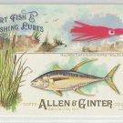 2017 Allen & Ginter Sport Fish & Lures Yellowfin Tuna & Skirted Trolling Lure #SFL-16