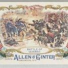 2017 Allen & Ginter Revolutionary Battles - Battle of Quebec #RB-3