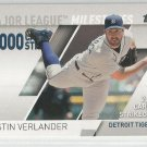 2017 Topps Baseball Major League Milestones Justin Verlander (Tigers) #MLM-14
