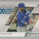 2017 Topps Baseball Major League Milestones Jose Bautista (Blue Jays) #MLM-5