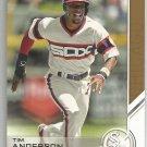 2017 Topps Update Baseball Topps Salute Tim Anderson (White Sox) #USS-13