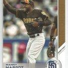 2017 Topps Update Baseball Topps Salute Manny Margot (Padres) #USS-22