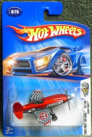 "2004 Hot Wheels First Edition ""Madd Propz"""