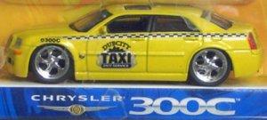 "Jada Toys Dub City Kustoms Chrysler 300C ""Dub City Taxi"" 1/64 Scale Diecast Collectible"