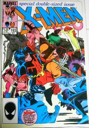 "May 1985 Marvel Comics ""X-Men"" #193 Special Double Issue"