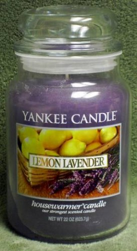 "Yankee Candle ""Lemon Lavender"" 22oz. Housewarmer Candle"