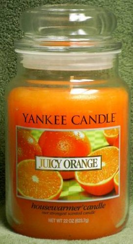 "Yankee Candle ""Juicy Orange"" 22oz. Housewarmer Candle"