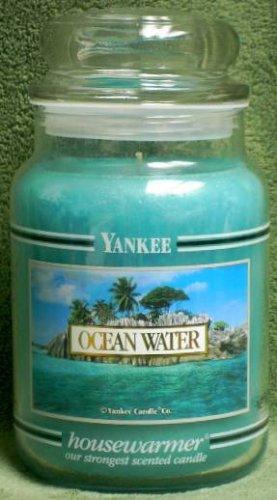 "Yankee Candle ""Ocean Water"" 22oz. Housewarmer Candle (Retired)"