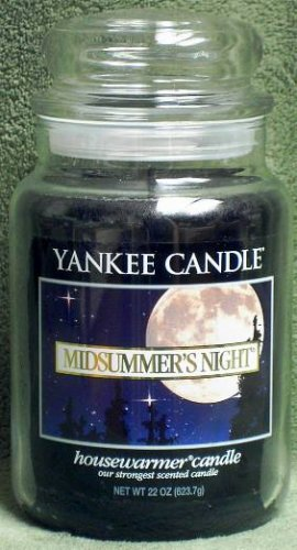 "Yankee Candle ""Midsummer's Night"" 22oz. Housewarmer Candle"