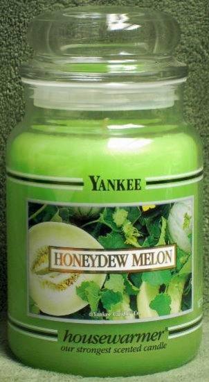 "Yankee Candle ""Honeydew Melon"" 22oz. Housewarmer Candle"