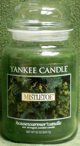 "Yankee Candle ""Mistletoe"" 22oz. Housewarmer Holiday Candle"