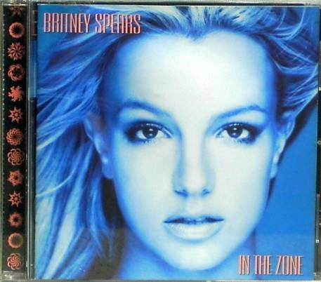 "Britney Spears ""IN THE ZONE"" Music CD  Used"