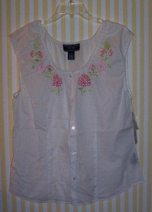 Joneswear Sport Sleeveless Shirt Nwt