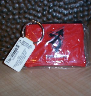 Zodiac Coin Purse Key Ring (new In Pkg.)
