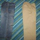 Boys   2 Pair  of pants  SZ. T 4 ( Used
