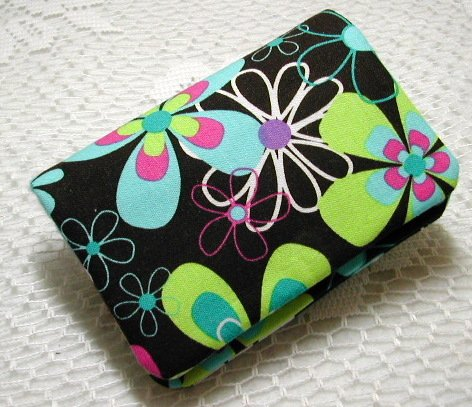 Needle Book Wallet - Far Out Spa Michael Miller