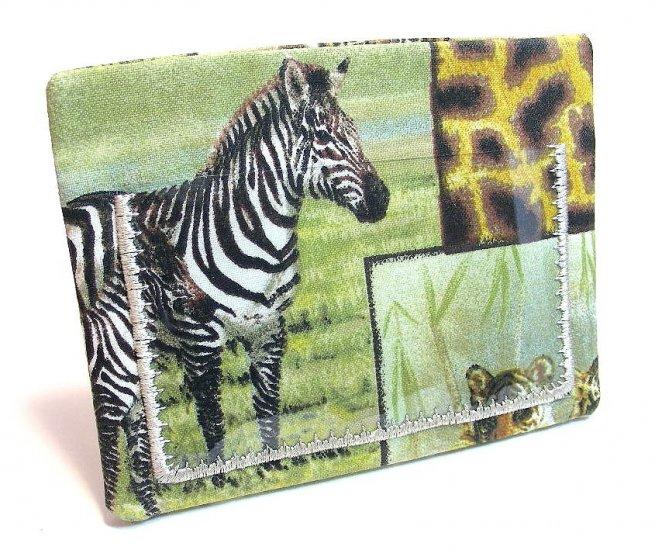 Clear Pocket ATM - Debit - Credit - ID Card Badge Holder - Wild Animals