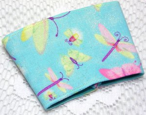 Coffee Cozy Cup Sleeve - Dragonflies
