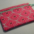 Little Zip Pouch- Padded Zippy- Perky Pink