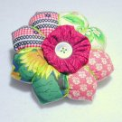Flower Petal Pincushion - Patchwork