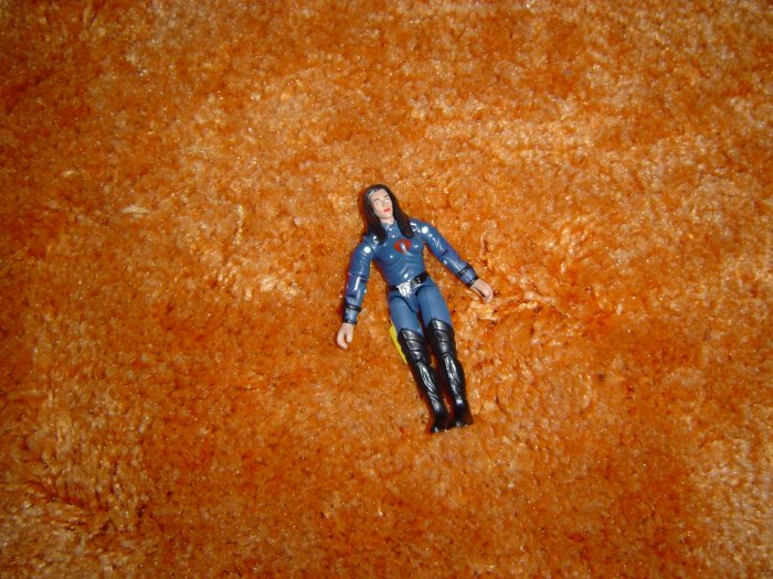 Gi joe Cobra Baroness action figure 2004