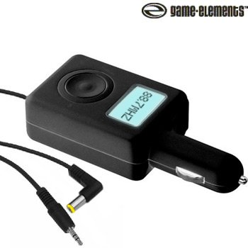 GAME ELEMENTS® FM TRANSMITTER/CAR CHARGER