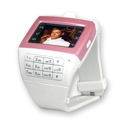 Free Tek EG100 Watch Cell Phone Unlocked Triband Touch Screen BluetoothMP3/MP4 FM