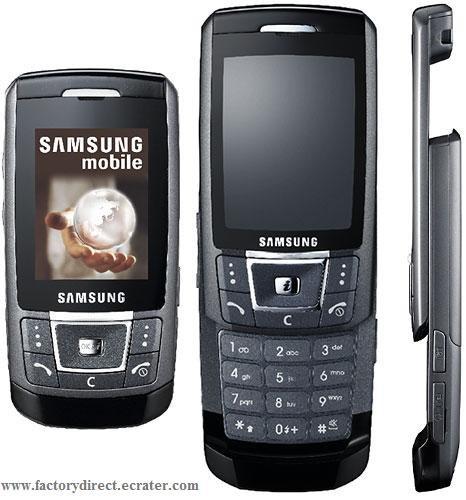 SAMSUNG SGH-D900 BLACK QUADBAND UNLOCKED BLUETOOTH MOBILE PHONE 1G TF