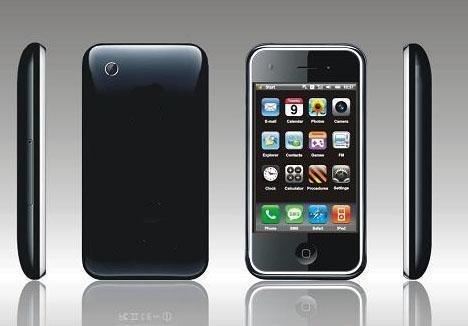 M89 3G ++ Style Quad-band Windows 6.1 Wifi  GPS Java Mobile Phone 2G Memory